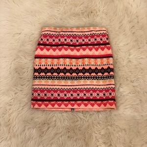 American Eagle Tribal Skirt
